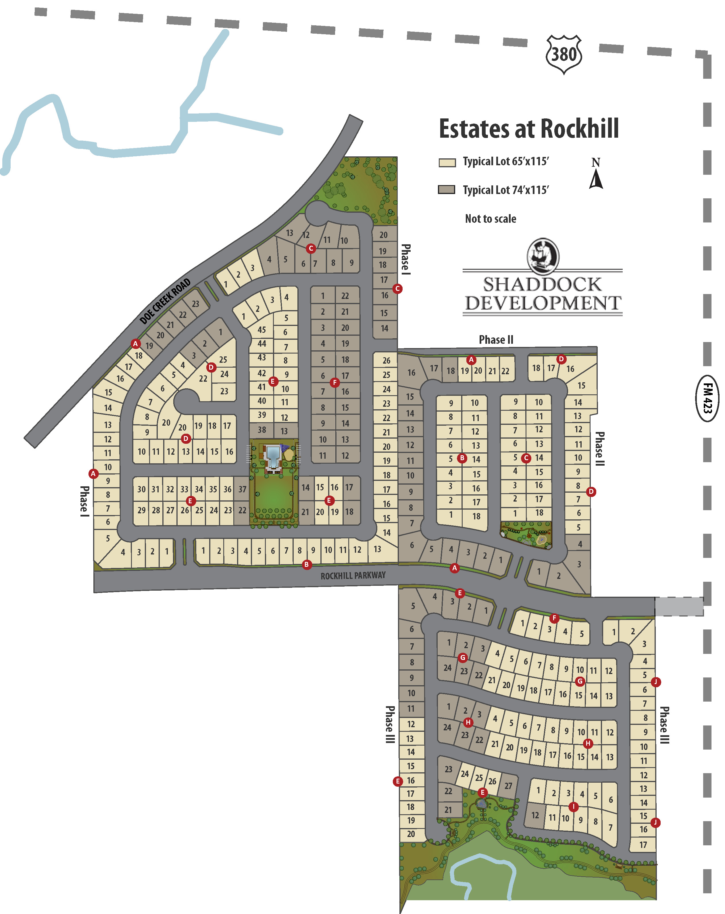 Estates at Rockhill - Shaddock Development Company